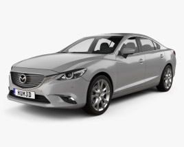 3D model of Mazda 6 GJ 2015