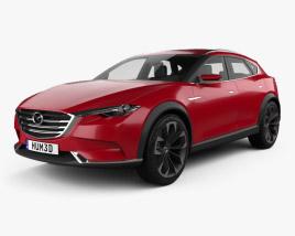 3D model of Mazda Koeru 2015