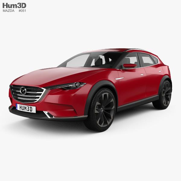 Mazda Koeru 2015 3D model