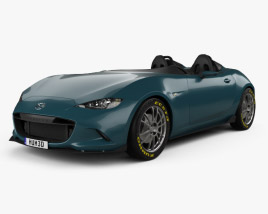 3D model of Mazda MX-5 Spyder 2015