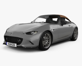 3D model of Mazda MX-5 Speedster 2015