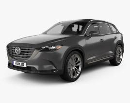 3D model of Mazda CX-9 2016
