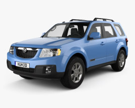 3D model of Mazda Tribute 2007