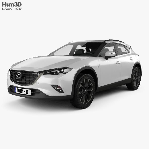 Mazda CX-4 2016 3D model