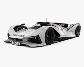 3D model of Mazda LM55 Vision Gran Turismo 2014