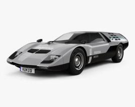 3D model of Mazda RX-500 1970