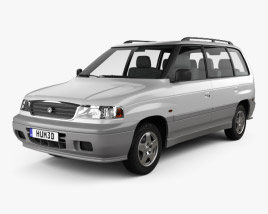 3D model of Mazda MPV (LV) 1997