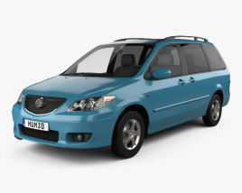 3D model of Mazda MPV (LW) 2002