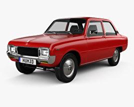 3D model of Mazda 1000 1973