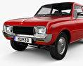 Mazda 1000 1973 3d model