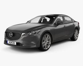 3D model of Mazda 6 sedan 2018