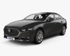 3D model of Mazda 3 sedan 2019