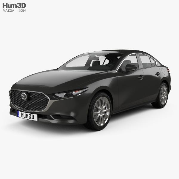 Mazda 3 sedan 2019 3D model