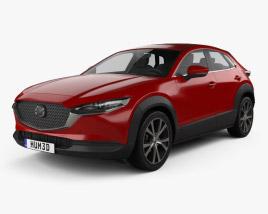 3D model of Mazda CX-30 2020