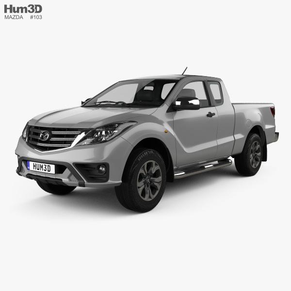Mazda BT-50 Freestyle Cab 2018 3D model