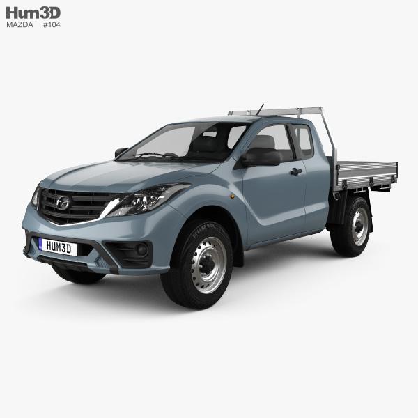 Mazda BT-50 Freestyle Cab Alloy Tray 2018 3D model