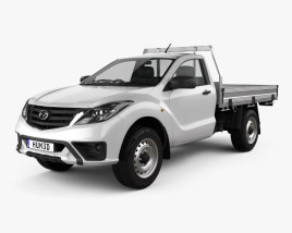 3D model of Mazda BT-50 Single Cab Alloy Tray 2018