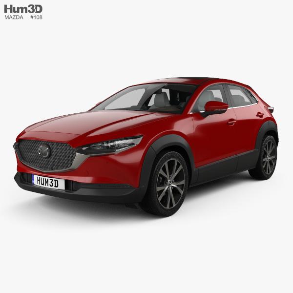 Mazda CX-30 with HQ interior 2020 3D model