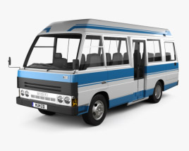 3D model of Mazda T3500 Mini Bus 1996