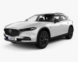 3D model of Mazda CX-4 2020