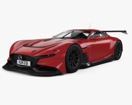 3D model of Mazda RX-Vision GT3 2020