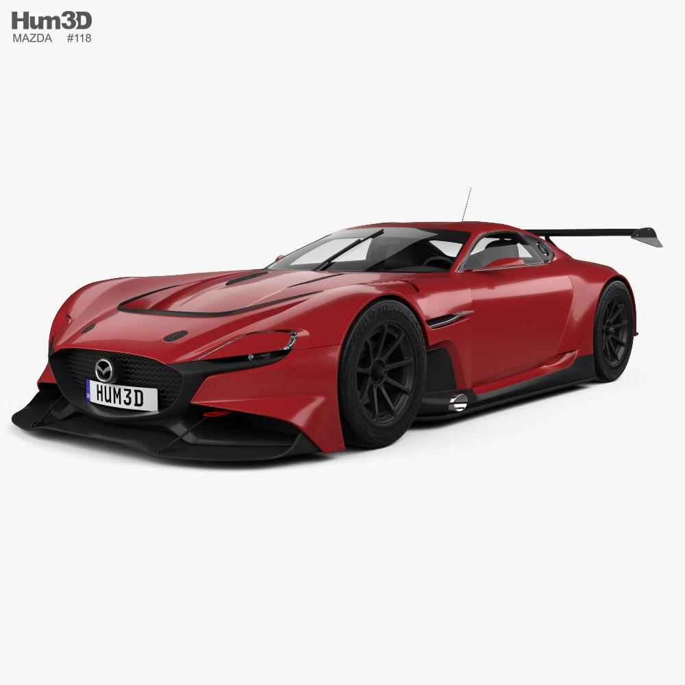 Mazda RX-Vision GT3 2020 3D model