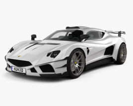 3D model of Mazzanti Evantra Millecavalli 2016