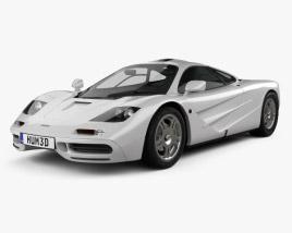 3D model of McLaren F1 1995