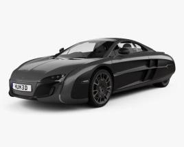 3D model of McLaren X-1 2012