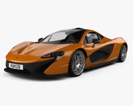 3D model of McLaren P1 2013