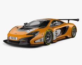 3D model of McLaren 650S GT3 2015