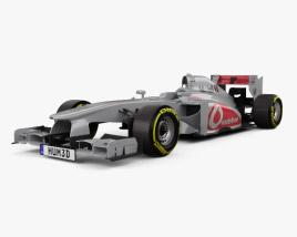 3D model of McLaren MP4-28 2013