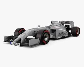 3D model of McLaren MP4-29 2014