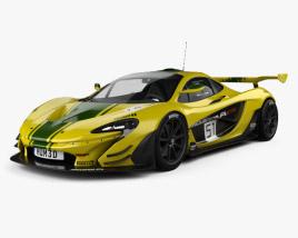 3D model of McLaren P1 GTR 2014