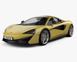 3D model of McLaren 570S 2016