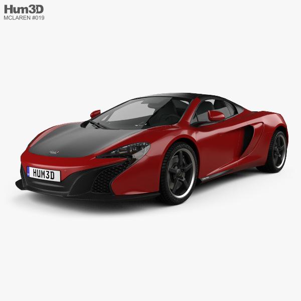 McLaren 650S Can-Am 2016 3D model