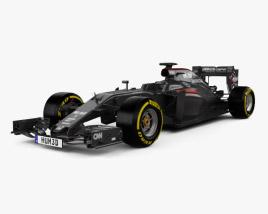 3D model of McLaren MP4-31 2016