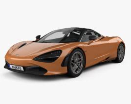 3D model of McLaren 720S 2017