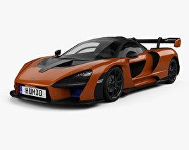 3D model of McLaren Senna 2019