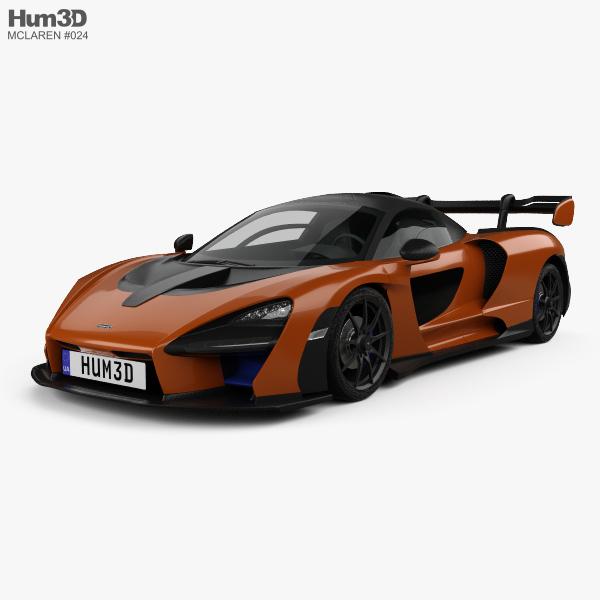 McLaren Senna 2019 3D model