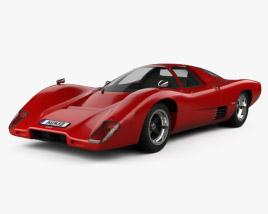 3D model of McLaren M6 GT 1969