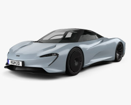 3D model of McLaren Speedtail 2019