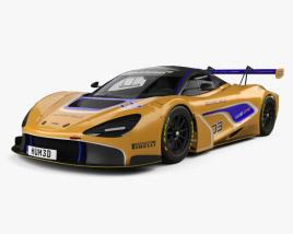 3D model of McLaren 720S GT3 2019