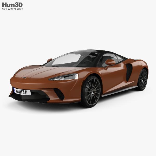 McLaren GT 2020 3D model
