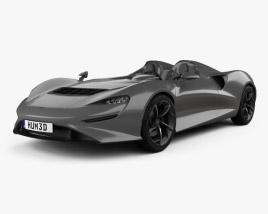 3D model of McLaren Elva 2021