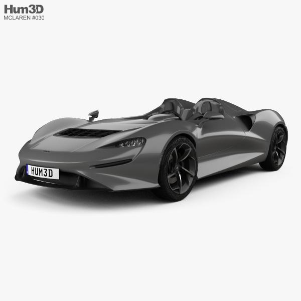 McLaren Elva 2021 3D model