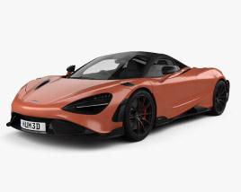 3D model of McLaren 765LT 2021
