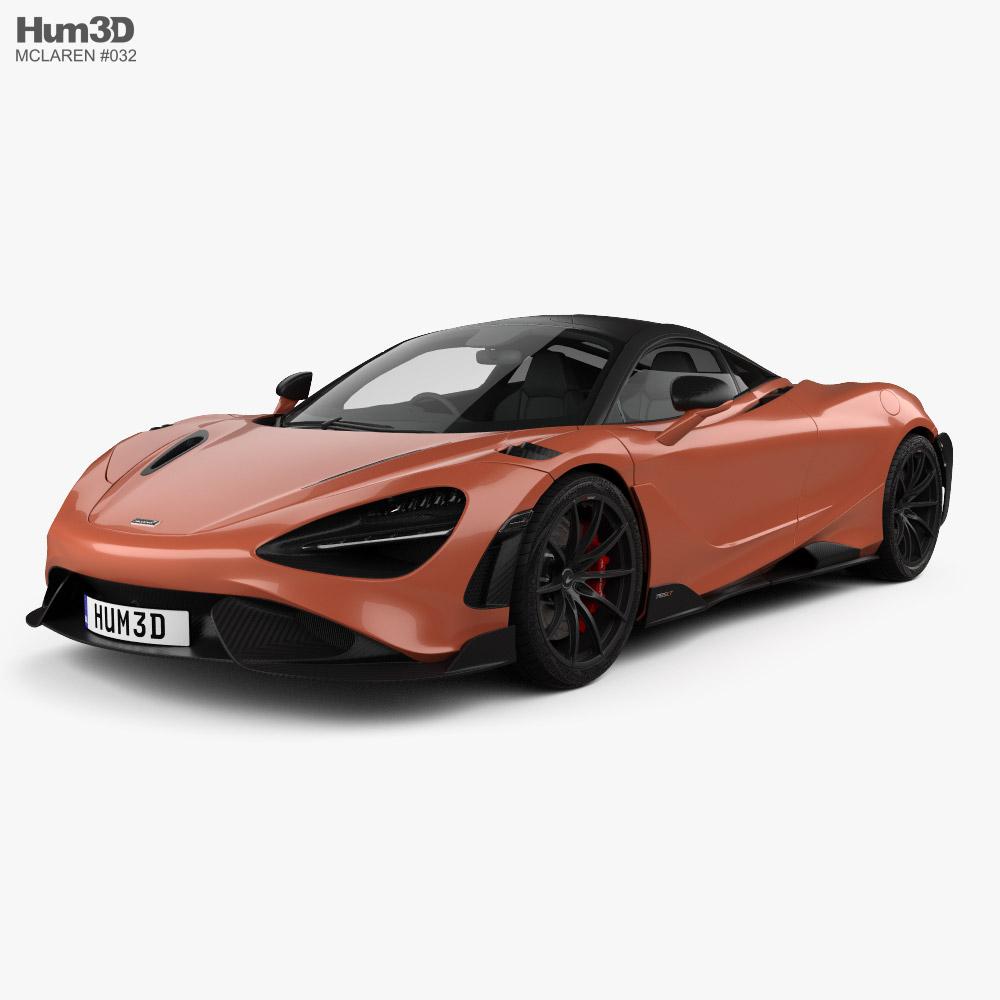 McLaren 765LT 2021 3D model