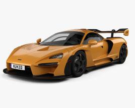 3D model of McLaren Senna LM 2021