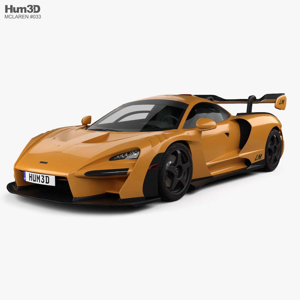 McLaren Senna LM 2021 3D model